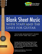 blank guitar sheet music with tabs